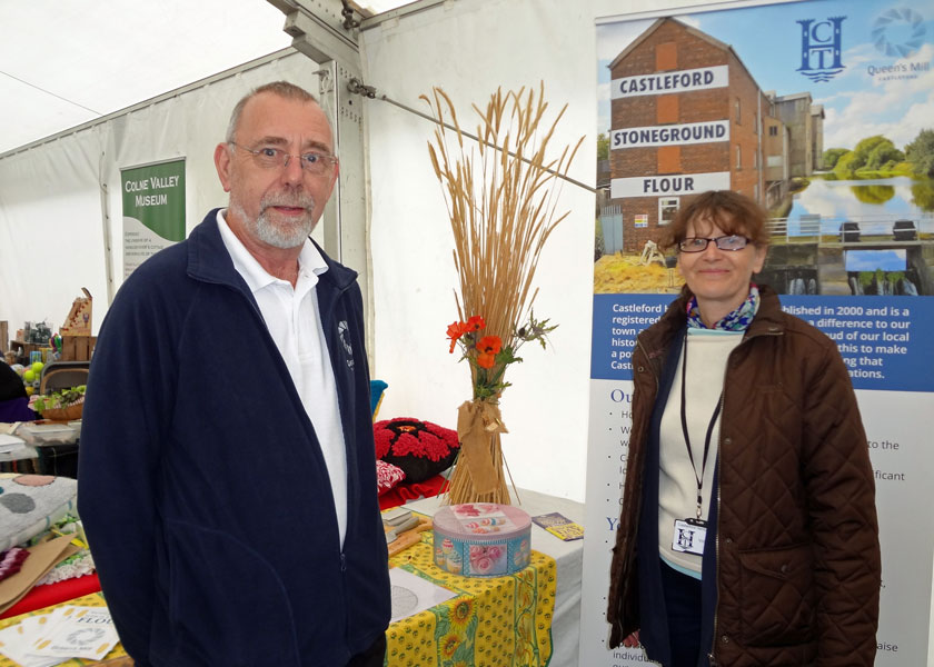 John Parker and Jeanette Bannister at the Penistone Show