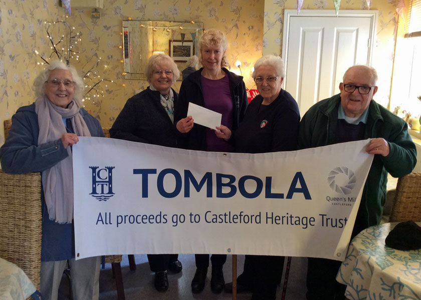 The Tombola Team with Alison & Gillian