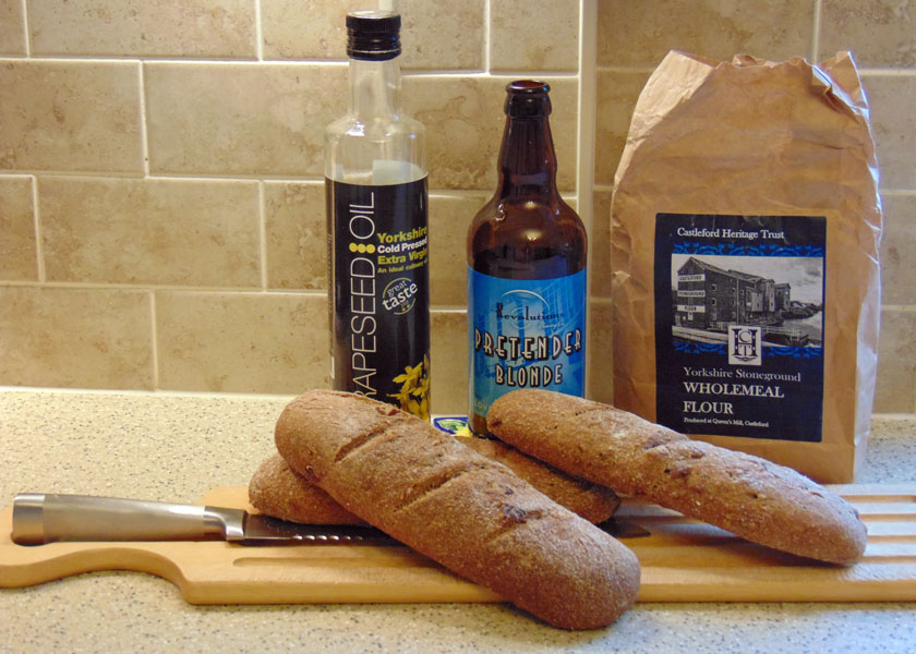 Castleford Ale & Walnut Bread